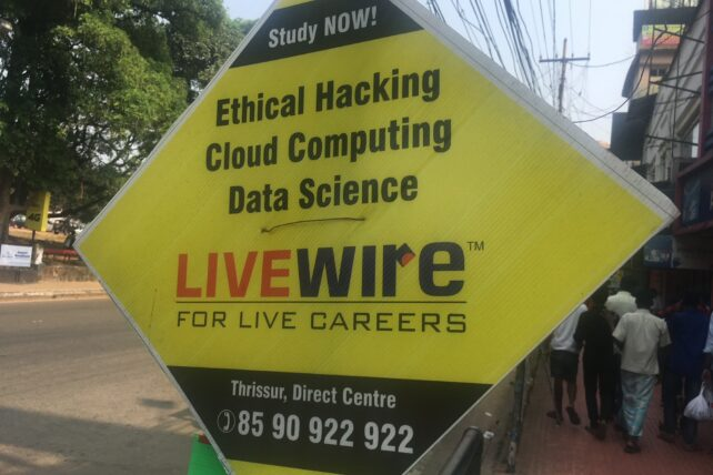 Add for Ethical Hacking. Mountains in India. Photo by Max Aschenbrenner.